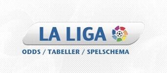 La Liga - spelschema, tabellen, resultat, oddsen mm