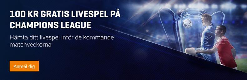 Riskfritt spel Champions League hos Nordicbet